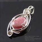 Thulite Heart Blessings: crystalsandjewelry.com/